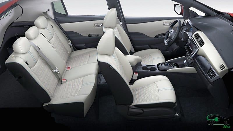 Nissan Leaf габариты и оснащение