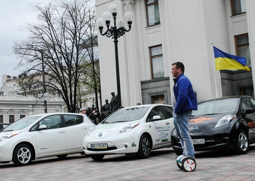 украина и электромобили