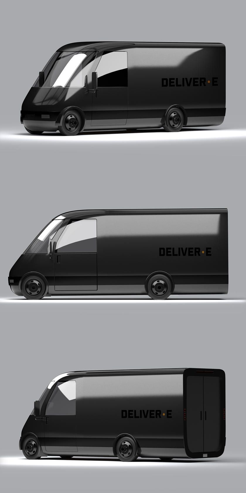 Электро-минивэн Bollinger Deliver-E