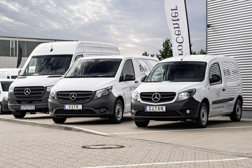 Электрогрузовики Mercedes eVito eSprinter