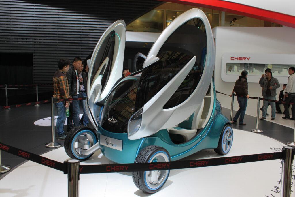 Электрокроссовер Ant из Китая: алюминиевый корпус и итальянский дизайн