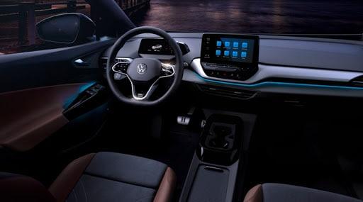 Новые подробности о Volkswagen ID.4: интерьер и тизер тестов