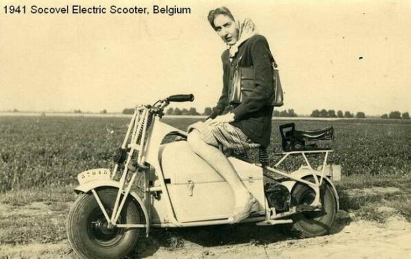 Socovel 1942 electric motorcycle 2806