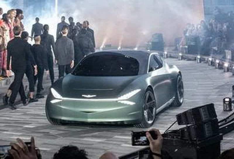 Электромобиль Genesis