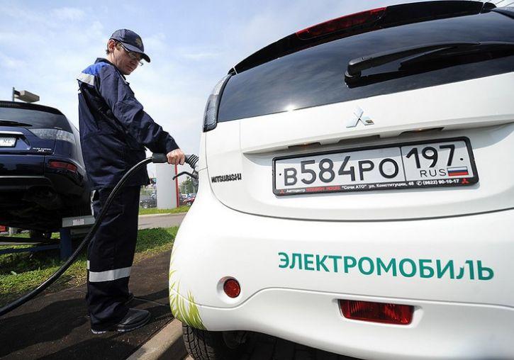 электромобили в россии
