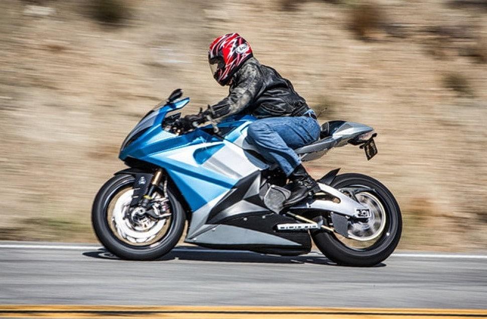 Самый быстрый электромотоцикл Lighting LS218