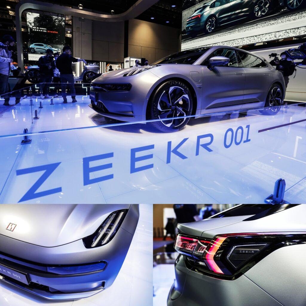 Auto Shanghai 2021 Zeekr 001 от Geely