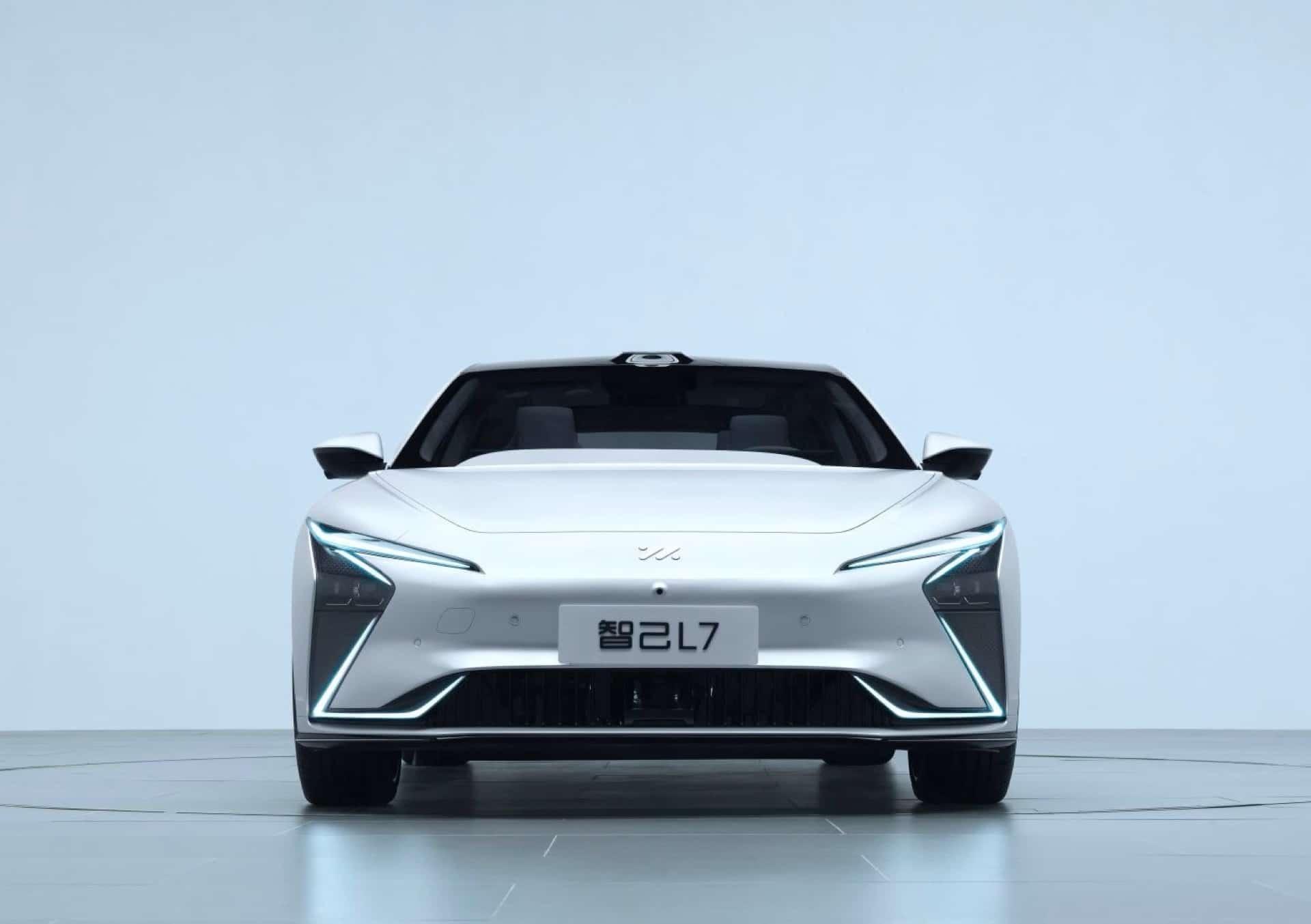 Электромобиль Zhiji L7 от Alibaba