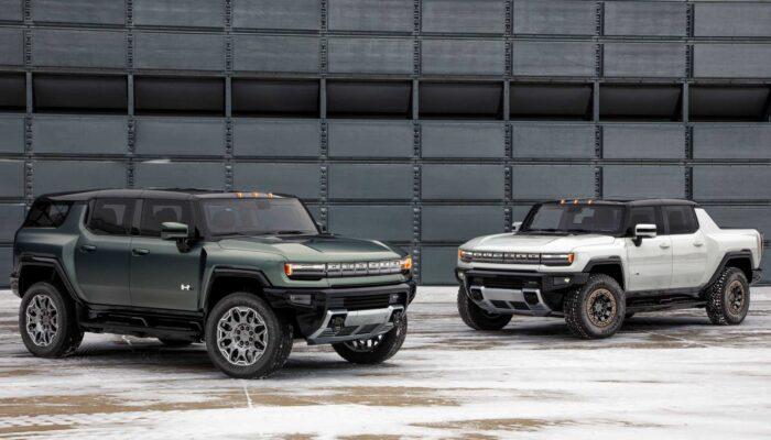 GMC Hummer EV внедорожник и пикап