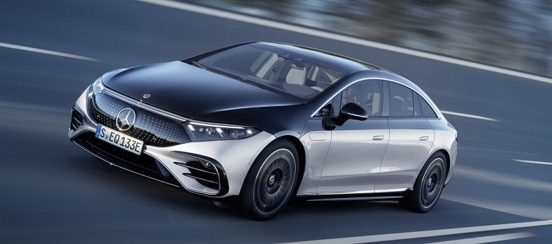 Электромобиль Mercedes-Benz EQS премьера