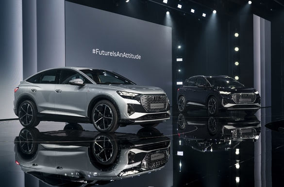 Премьера электромобилей Audi Q4 e-tron и кросс-купе Q4 Sportback e-tron