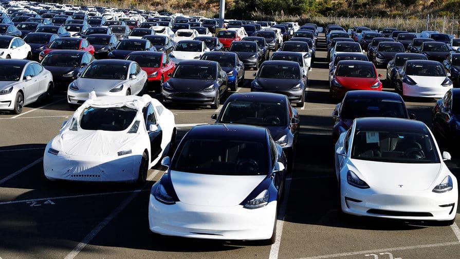 Сколько в мире электромобилей 2020
