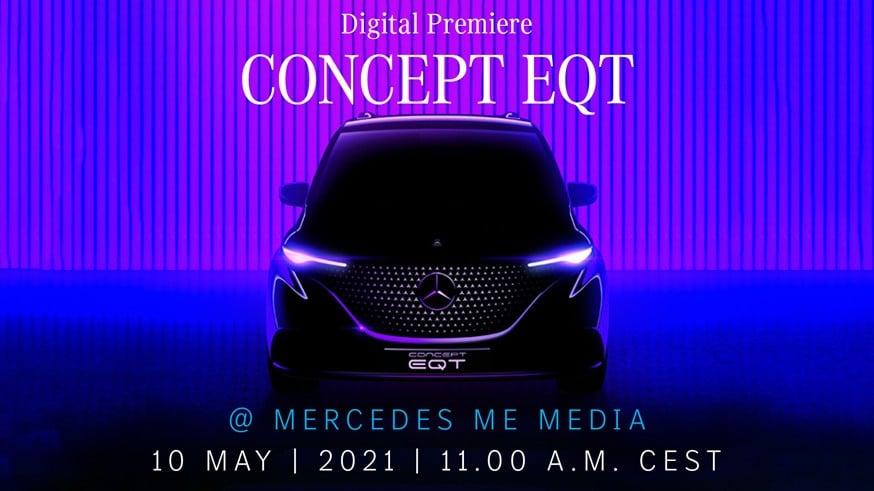 Концепт мини-фургона Mercedes-Benz EQT