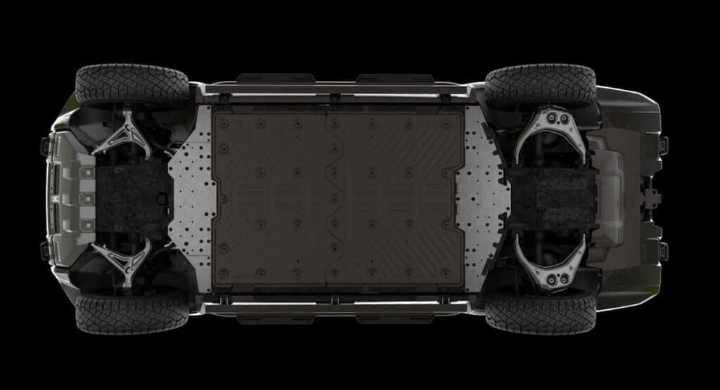Hummer EV SUV технические характеристики
