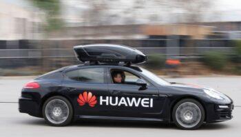 Huawei беспилотные электромобили