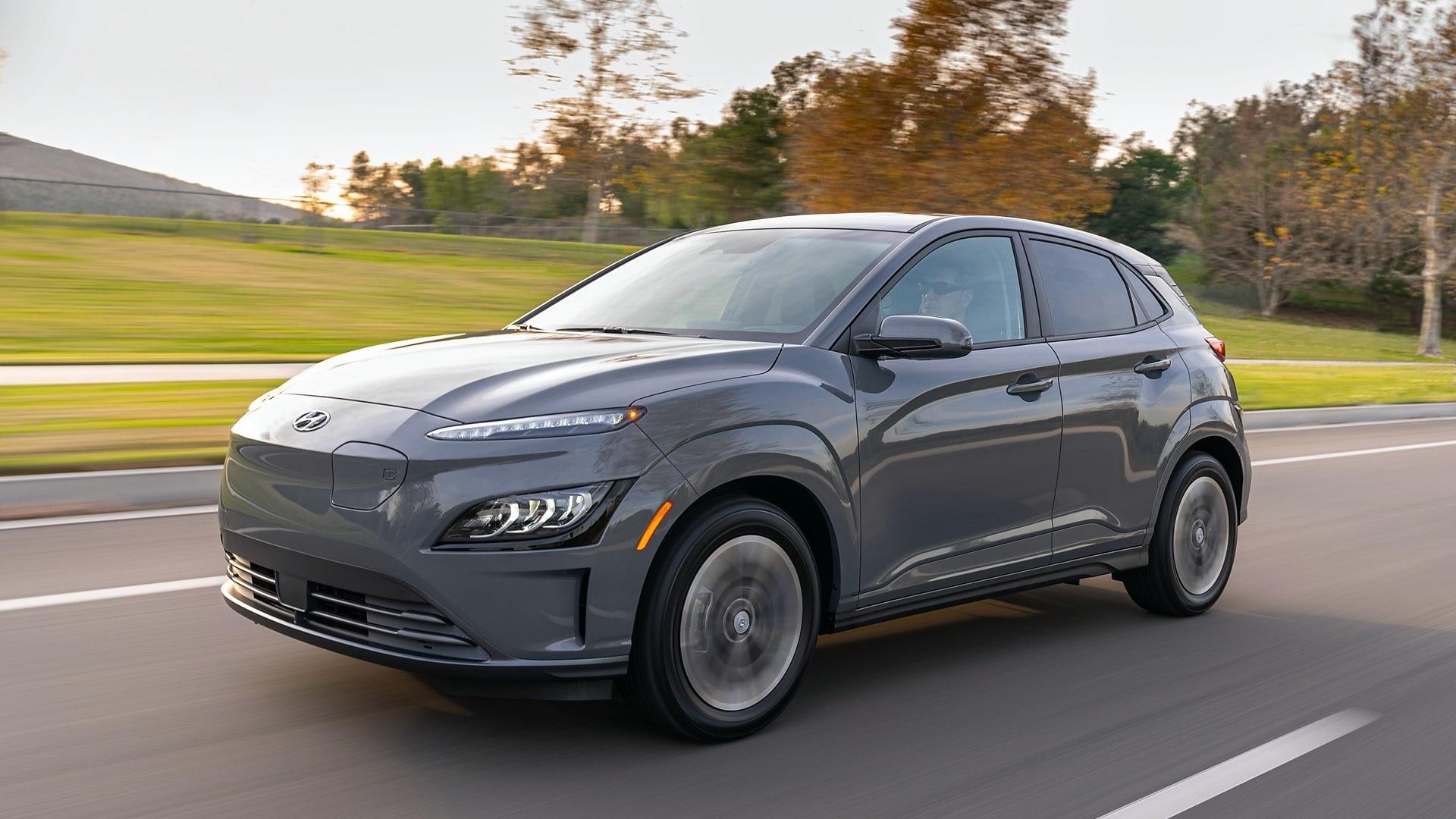 Электромобиль Hyundai Kona EV
