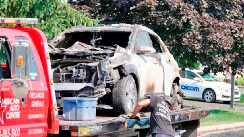 Hyundai Kona EV самовозгорание