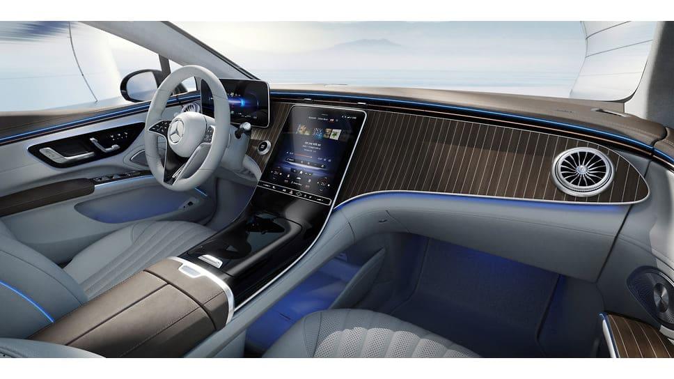 Mercedes-Benz EQS вариант интерьера