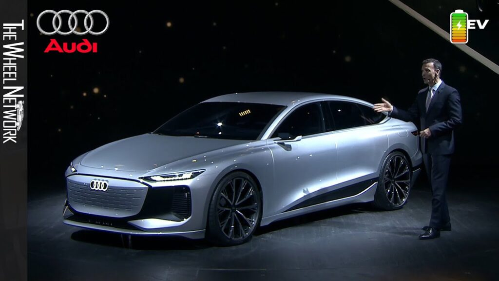 Концепт электромобиляAudi A6 E-tron