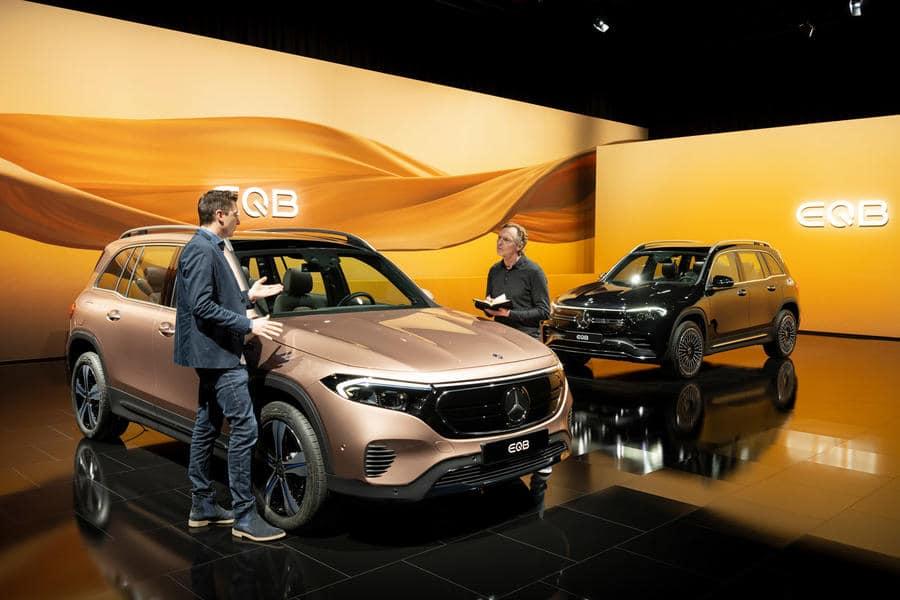 Auto Shanghai 2021 Mercedes-Benz EQB