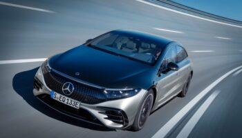 Электромобиль Mercedes-Benz EQS