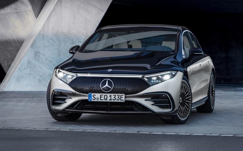 Mercedes-Benz EQS экстерьер