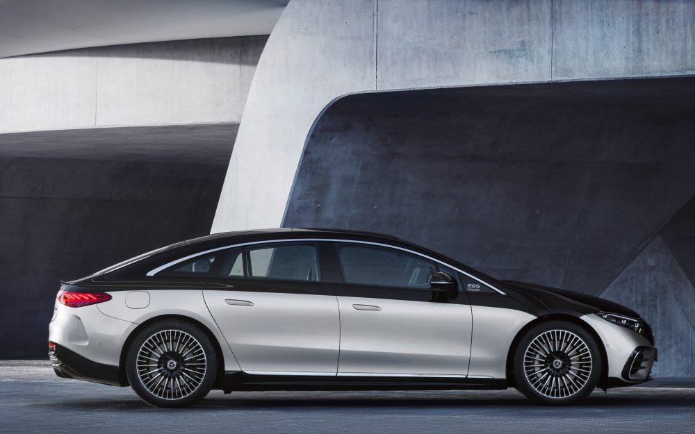 Mercedes-Benz EQS кузов