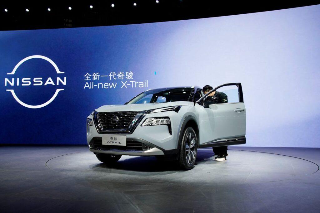 Nissan X-TRAIL с гибридной установкой e-Power