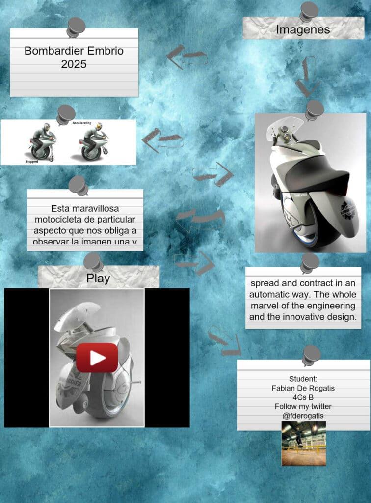 Дизайн-прототип Embrio от компании Bombardier
