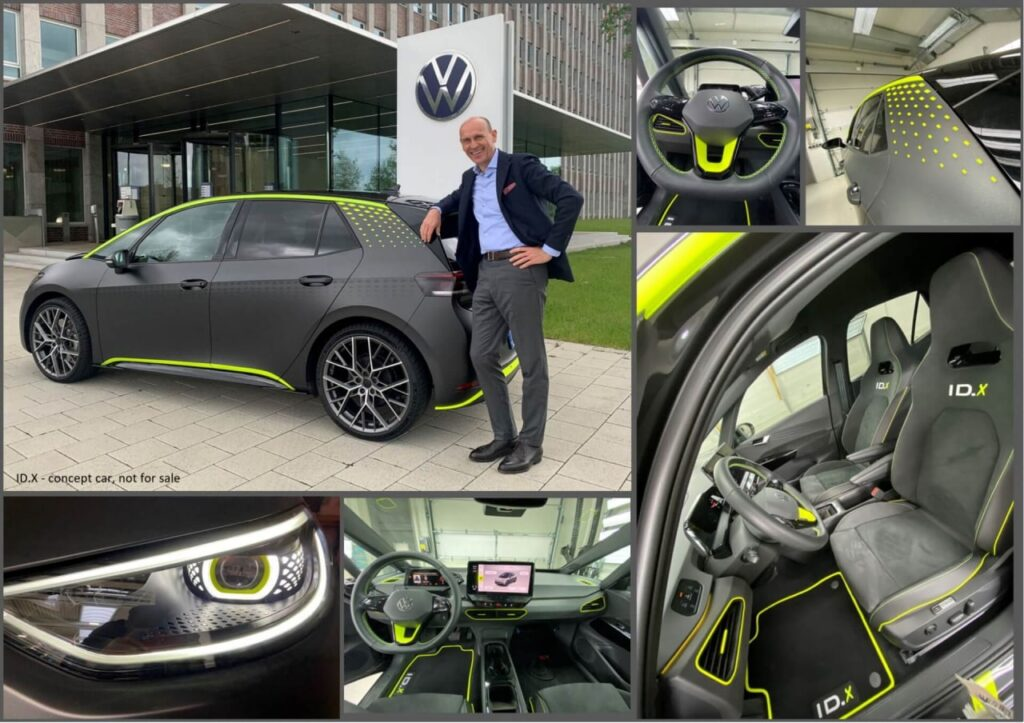 Электромобиль Volkswagen ID X