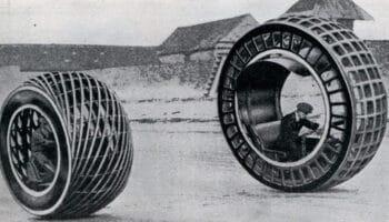 Первое электрическое моноколесо История моноколес