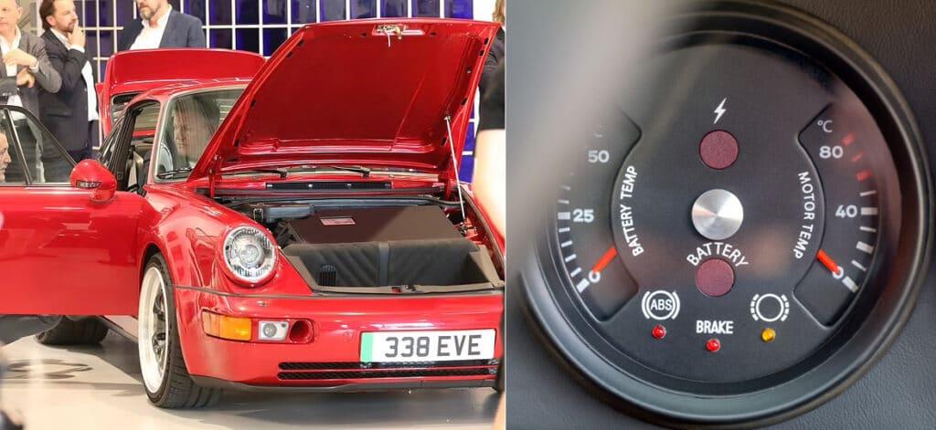 Электромобиль Everrati-Signature на базе Porcshe 911