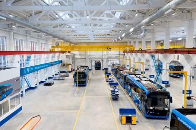 Центр по производству электробусов КАМАЗ в Сокольниках