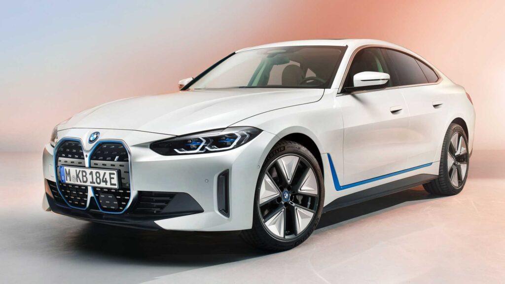 Электромобиль BMW i4 M 2022