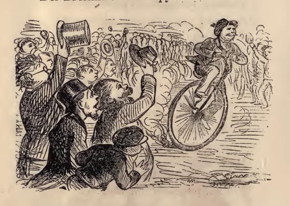 «Ганс Брейтманн и его Филосипет», 1869 год