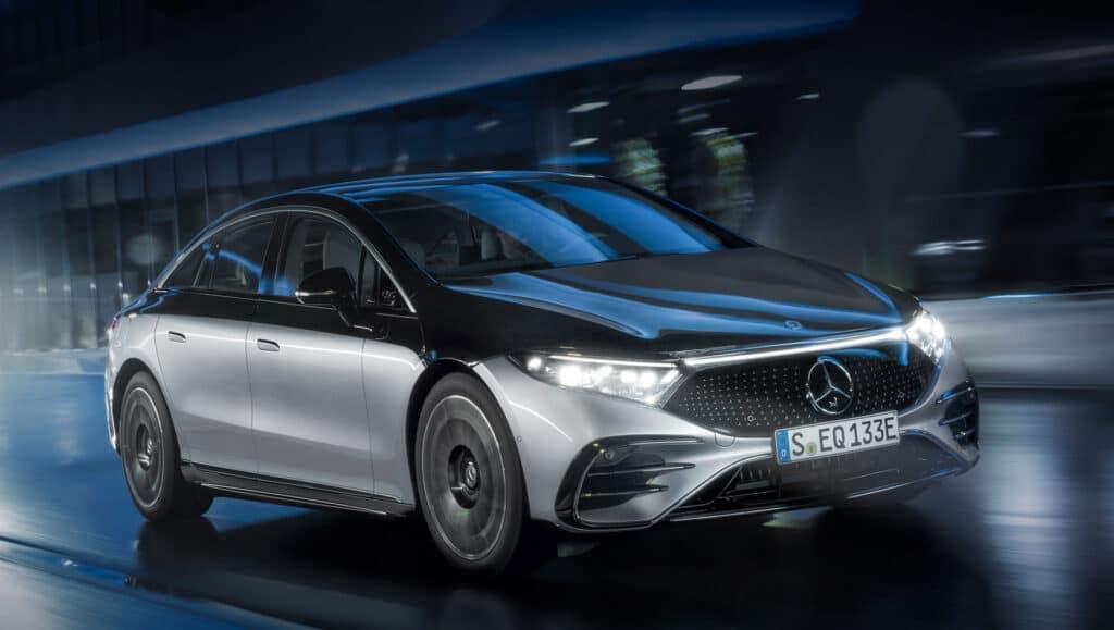 Электромобиль Mercedes-Benz EQS старт производства