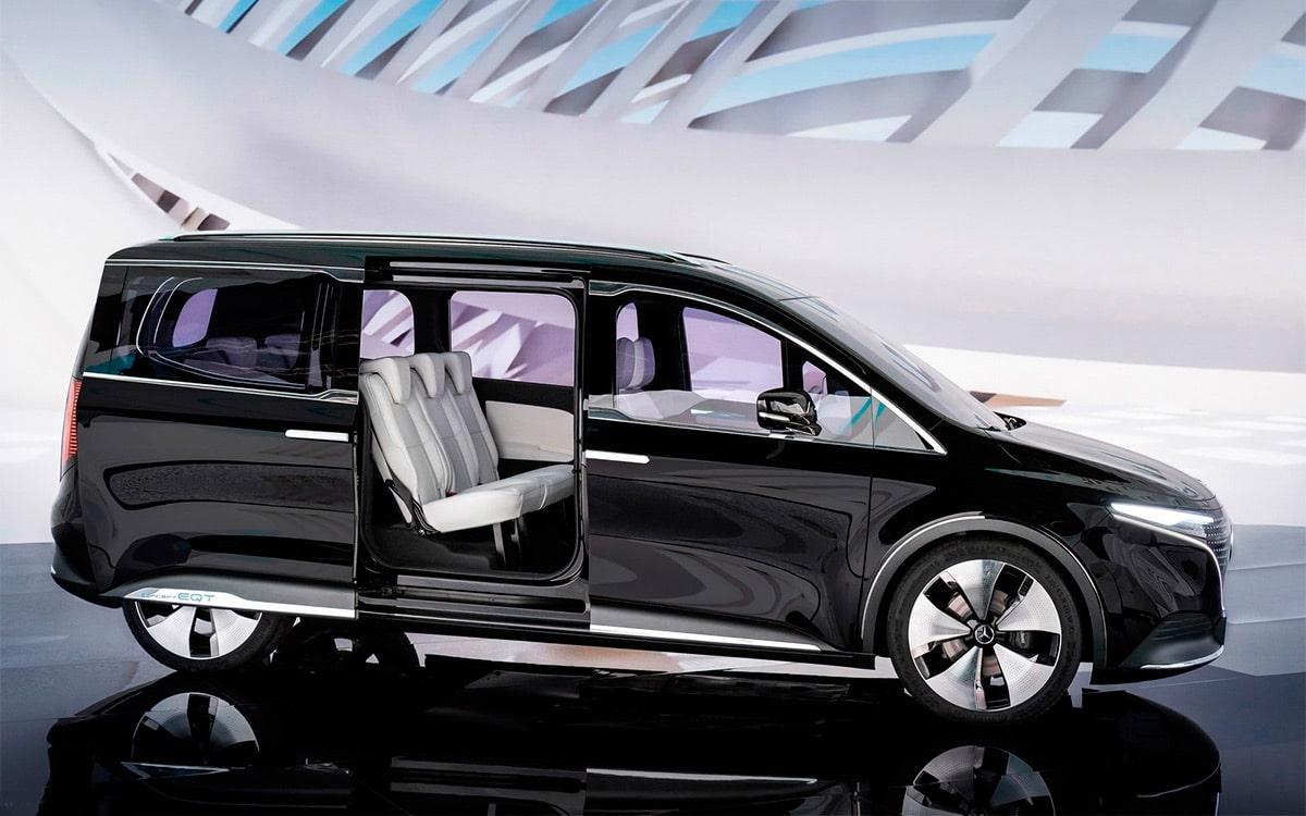 электромобиль Mercedes-Benz Concept EQT