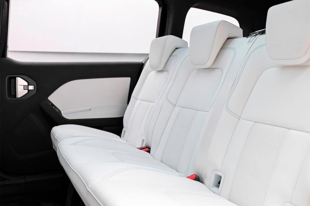 Mercedes-Benz Concept EQT салон