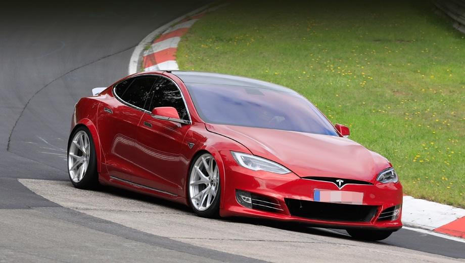Перенесен выход электромобиля Tesla Model S Plaid