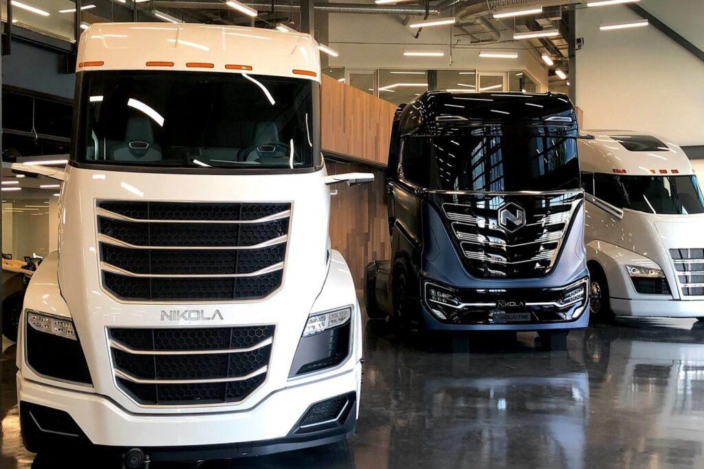 Водородные грузовики Nikola Motor