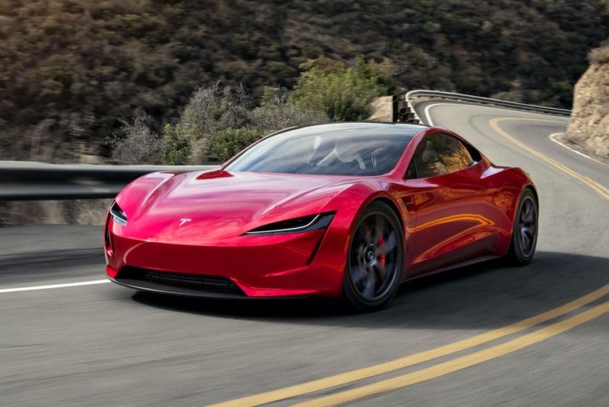 Дата выпуска электромобиля Tesla Roadster 2