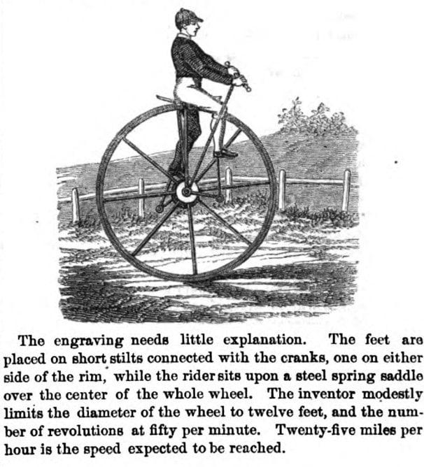 Первое изображение моноцикла