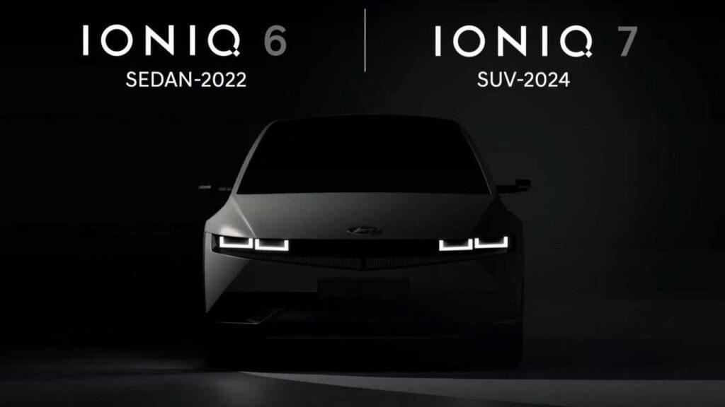 Электромобили Hyundai Ioniq 6 и 7