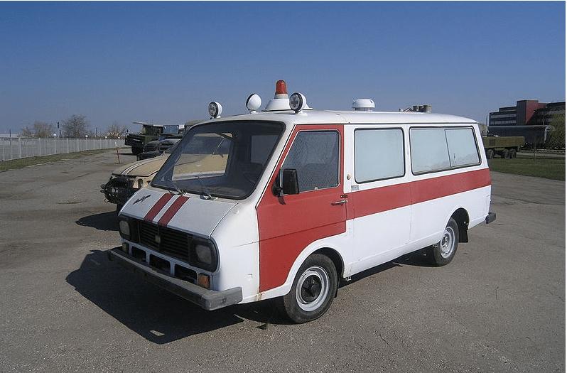 Автобус Скорой Помощи РАФ-22031-01