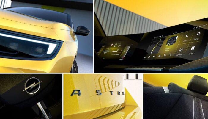Opel Astra 2022 тизер