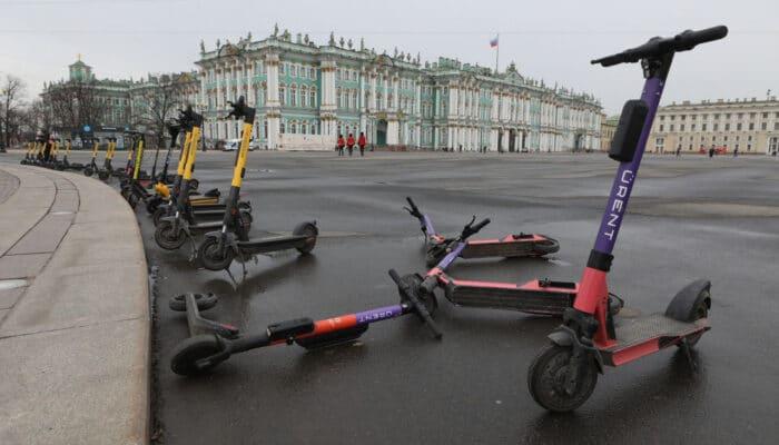 Хронология событий с электросамокатами в России