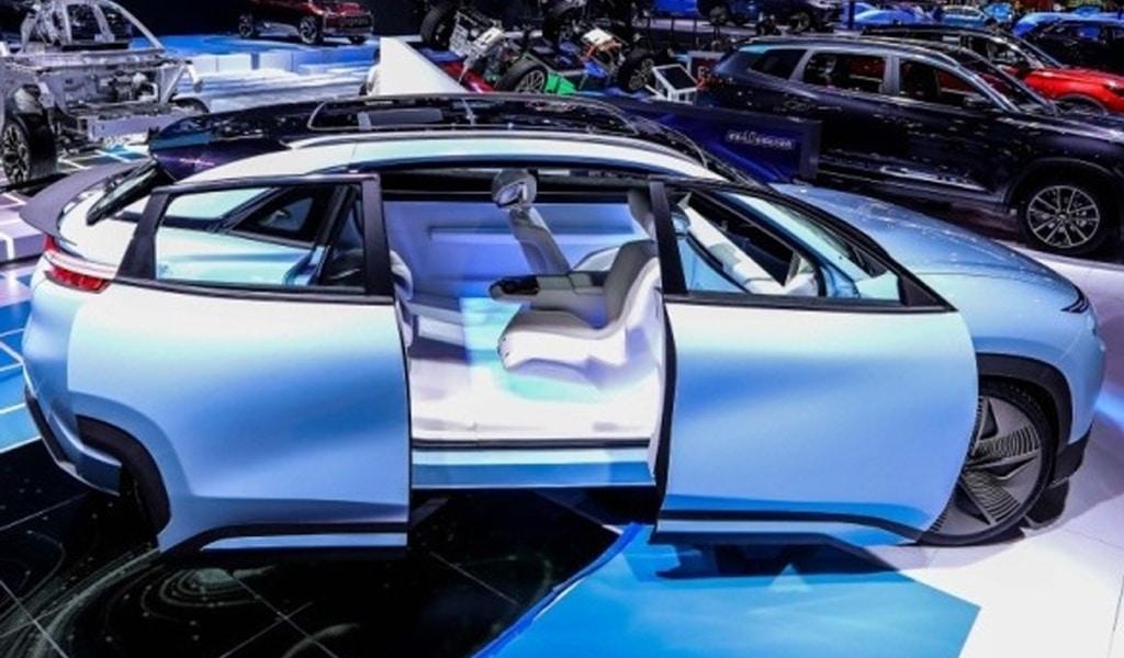 Концепт электромобиля Chery EQX