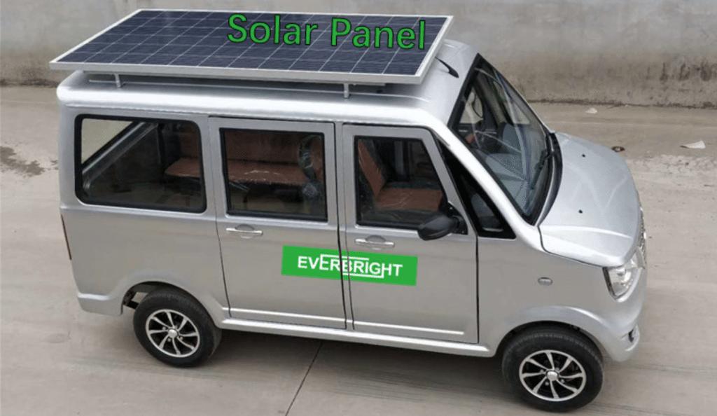 Everbright электромобиль - солнечная панель