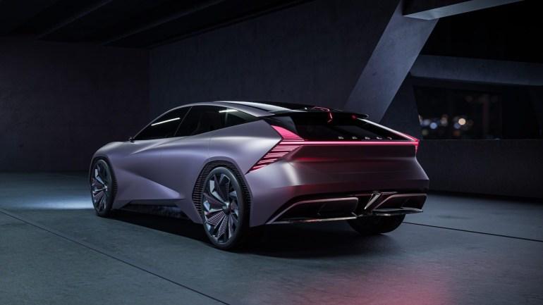 Концепт электромобиля Geely Vision Starburs багажник