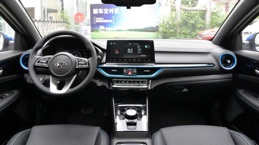 Kia Cerato EV 2021 интерьер